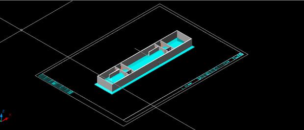 天正文件布图自动生成之后少了两层,屋顶和下面的建筑也分开了,