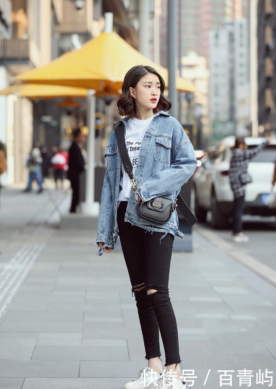 街拍:太古里的街头个个是小说,让人眼花缭乱美女绑架美女的图片
