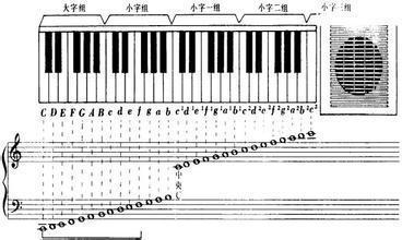 49键电子琴键盘图-本邦网