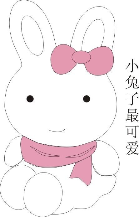 笔画视频小兔子-儿童简笔画小猫-兔子怎么画一步一步教-儿童绘画兔子