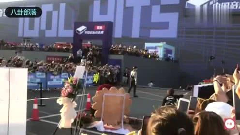 NINE PERCENT百分之九蔡徐坤《中国音乐公告牌》上班视频