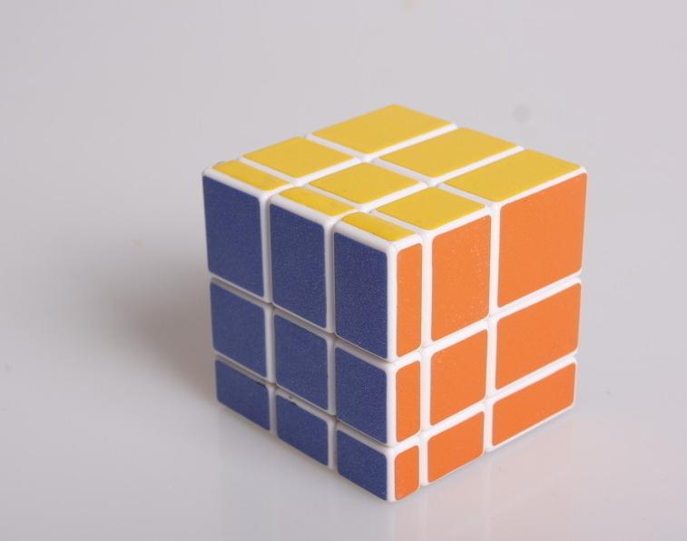 魔方的棱块角块图解