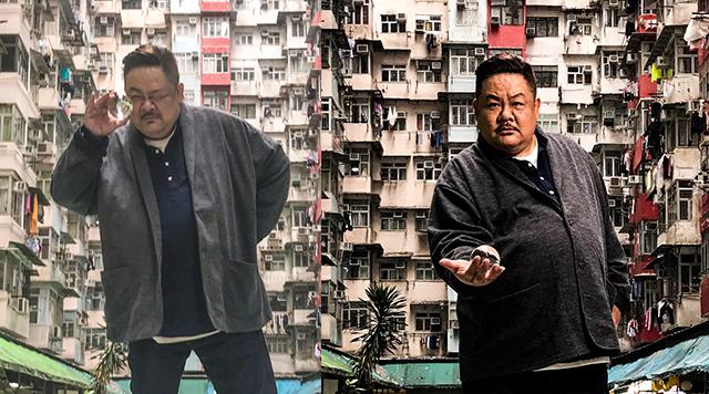 萌大叔林雪大玩颠覆拍广告炫英文获赞无数
