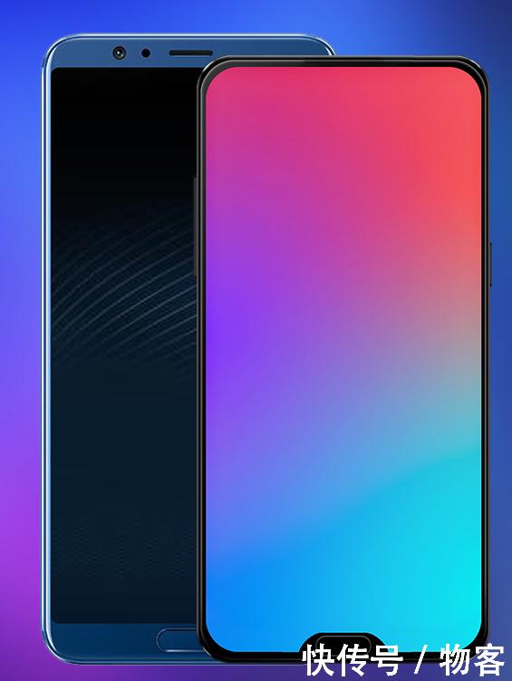 概念版魅族 15的屏幕尺寸为5.8英寸, 屏幕边框的宽度为3.