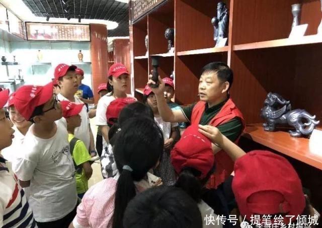 """华庭丽景 李哥庄镇新时代文明实践活动:小记者的""""传承""""之旅"""