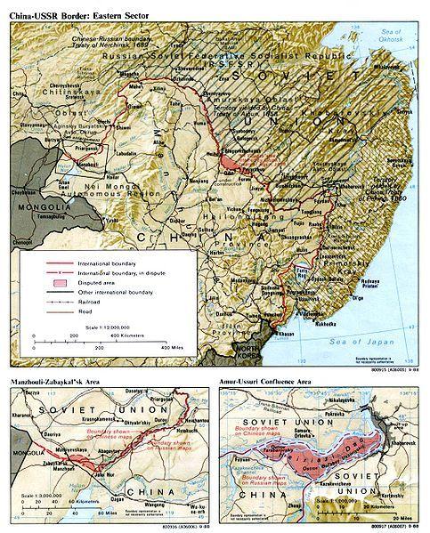 长期以来,其与黑瞎子岛为中俄搁置待议的两处领土.
