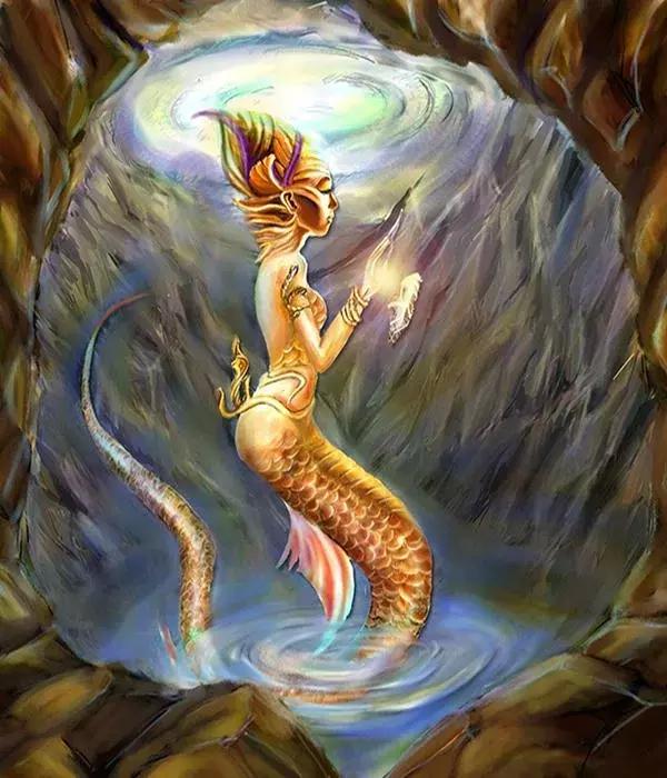 神话动物美人鱼