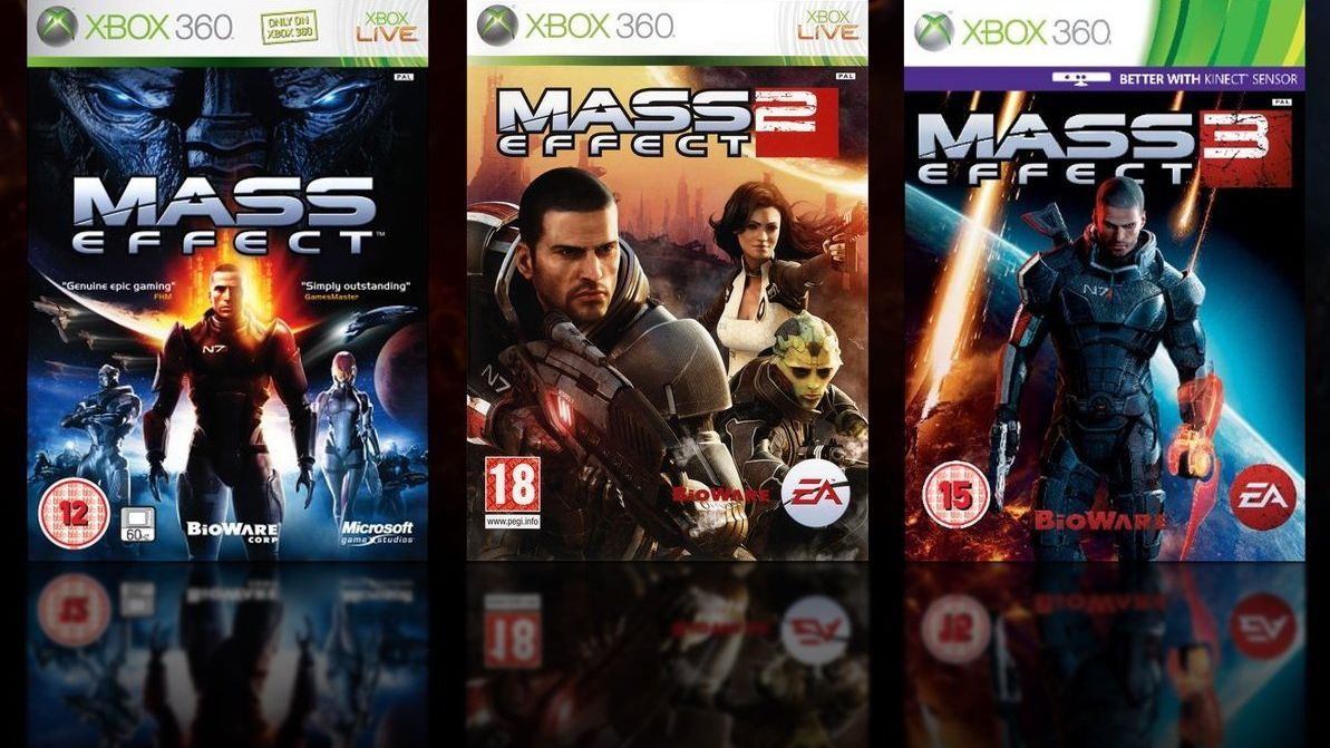 《质量效应:三部曲》加入Xbox One主机向下兼容服务