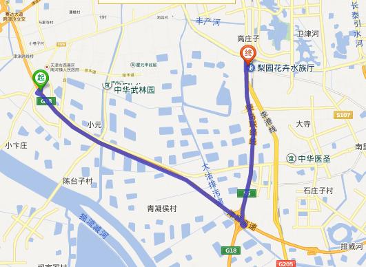 昆山晨震川路地图