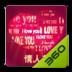 360手机桌面主题—快乐情人节
