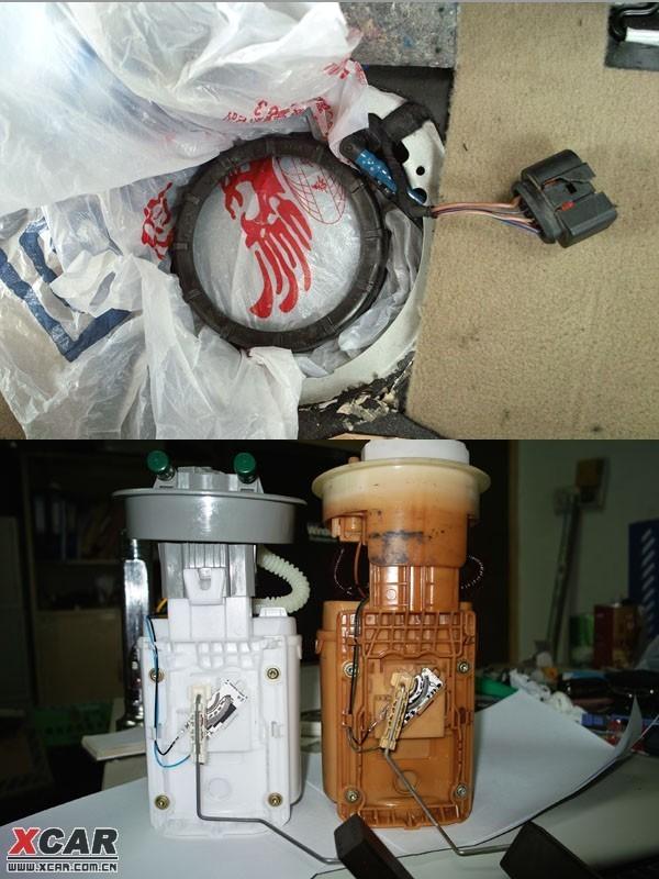 高尔夫4油泵怎么拆