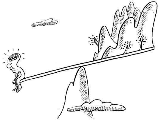 物理手绘背景图