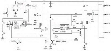 远程控制电灯 电路图