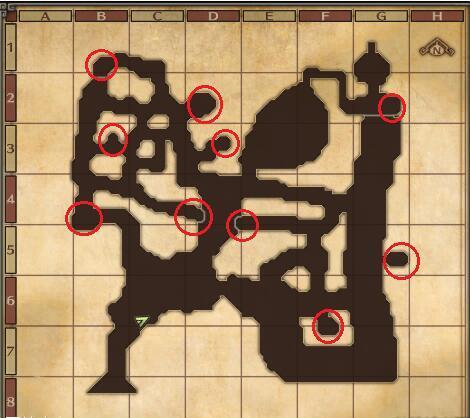 勇者斗恶龙英雄2宝箱怪位置坐标 全宝箱