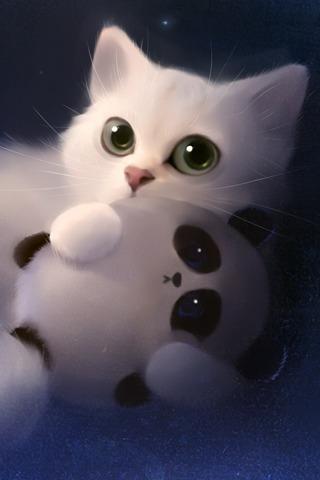 卡通猫咪壁纸(来自:)