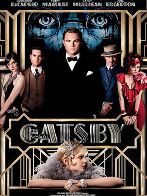 《了不起的盖茨比》电影海报