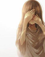 哭泣的动漫女生图片