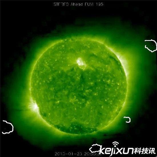太阳周围惊现上千UFO!各个都有地球大小 - 289923074 - 爱我中华