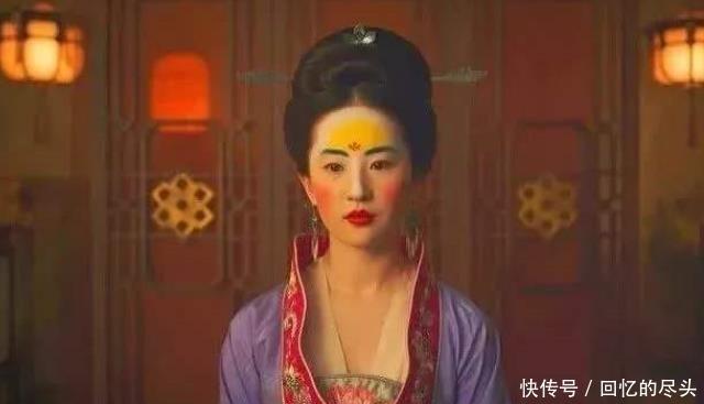 不要再说刘亦菲的木兰妆不好看了,你看过些之后就会觉得超好看了