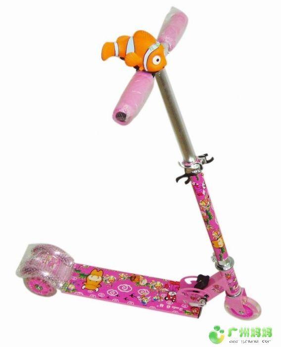 动物世界儿童滑板车