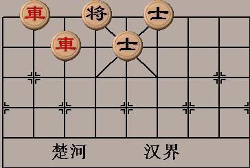 双车错是象棋最为实用,简捷的杀法之一.图片