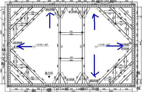 图纸边有钻孔灌注桩支护和搅拌桩做止水基坑,cad框怎么室内设计帷幕做图片