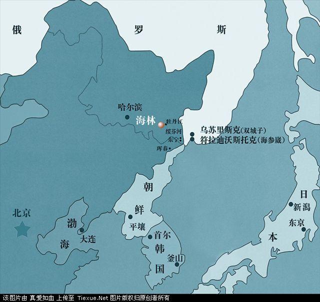 海参崴 地图