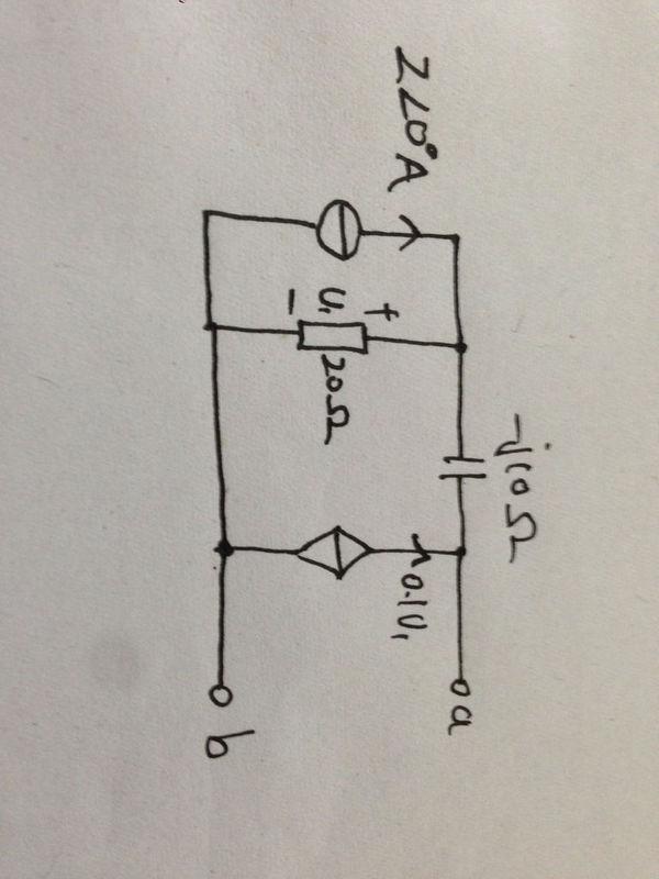 求戴维南等效电路用外加电源法和开路短路法两种方法求等效电阻