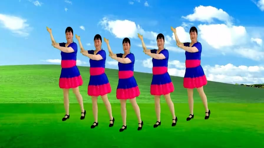 DJ广场舞《新山里红》赏舞听歌,新歌新舞,歌声优美,舞蹈又好看