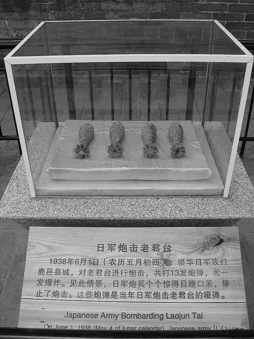 中国的一处古建筑,日军连发13发炮弹未爆!日军全体下跪 - 周公乐 - xinhua8848 的博客
