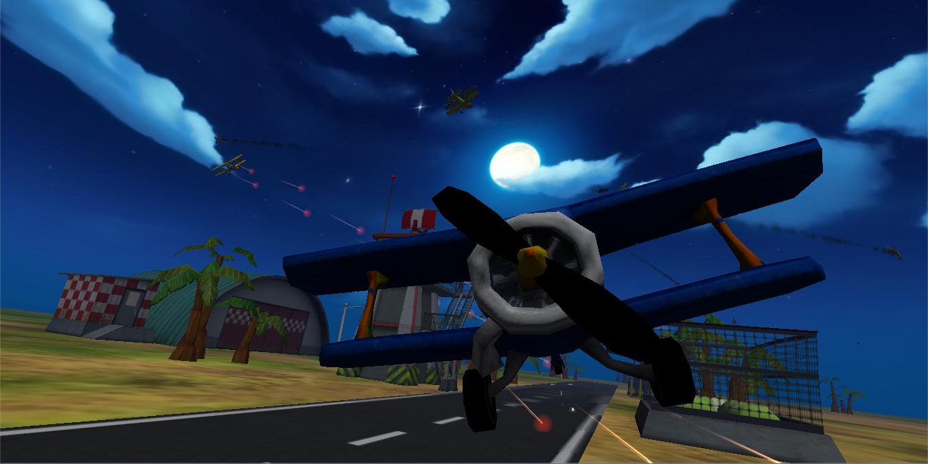 混战战飞机游戏