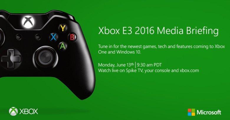 E3 2016展出计划时间安排