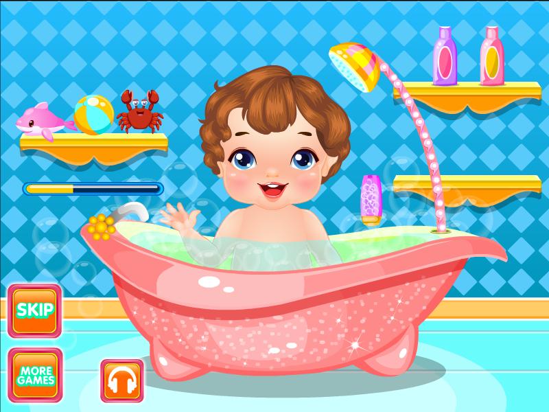 婴儿洗澡设计图