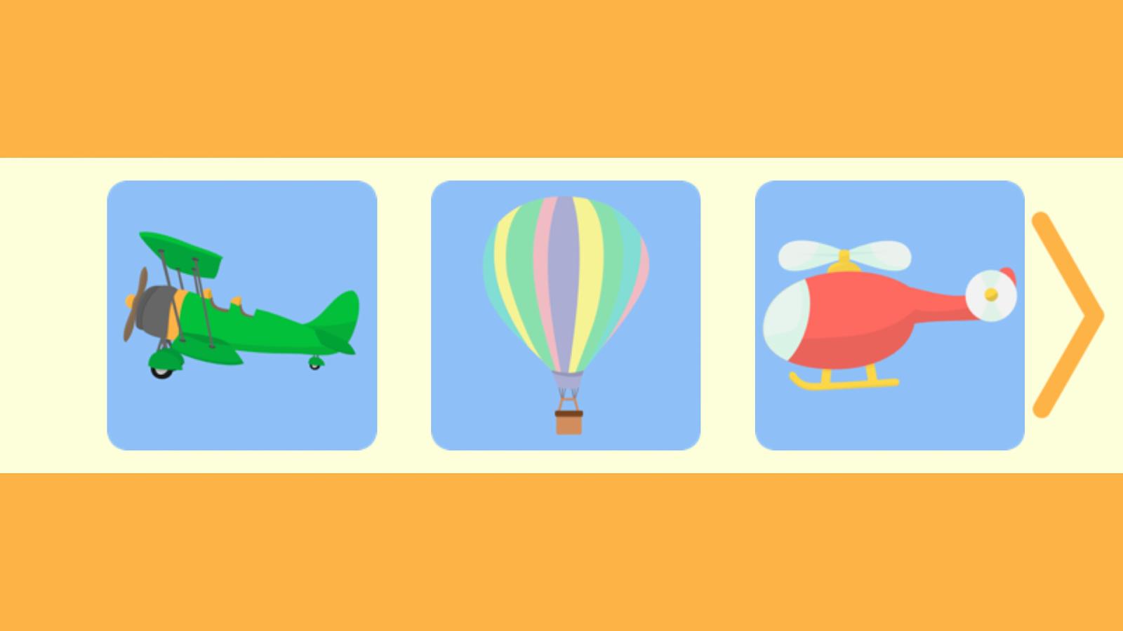 益智玩具飞机为孩子是一个了不起的,教育游戏,这是专门为孩子们设计的,这就是为什么它是为您的孩子很好的选择!益智玩具飞机为孩子的游戏,你可以找到玩具飞机(飞机,avionette,气球,风筝,直升机,火箭,飞船等),您的孩子一定会喜欢很多漂亮的图形。在这个简单的游戏的孩子需要移动的小拼图到正确的地方去发现完整的图像。一旦你的孩子露出全貌,他们会看到飞机的名称和它的特有的声音。益智玩具飞机为孩子是很好的选择,这款游戏将帮助孩子提高他们的认知和匹配的技能!对益智玩具飞机为孩子的特点:很多五颜六色的拼图许多不同