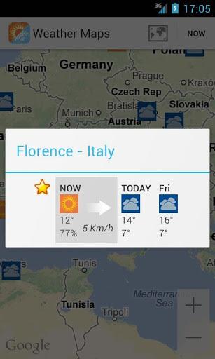 天气地图截图2