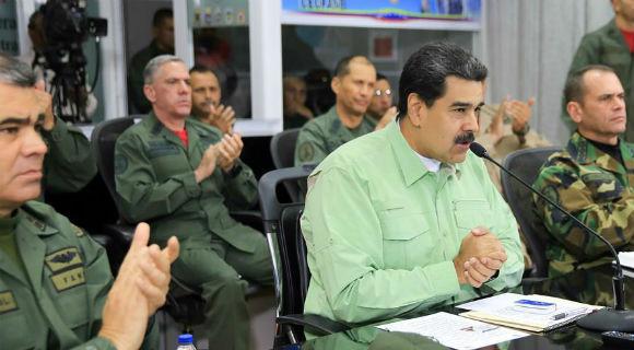 委内瑞拉总统马杜罗宣布关闭与巴西边界