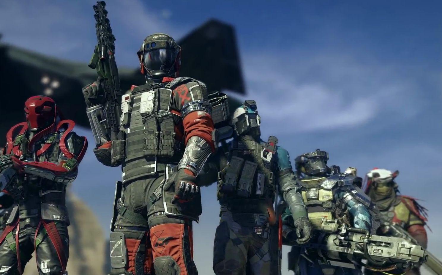 《使命召唤13:无限战争》开启测试