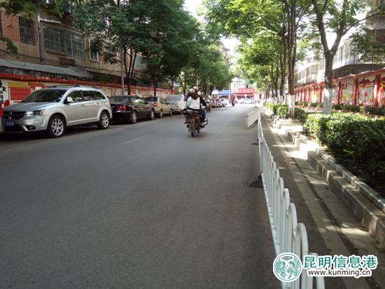 云山支路隔离栏已拆除 棕树营街道将加大巡逻力度防违