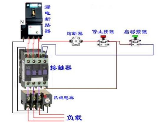 电磁继电器的工作原理及接线图