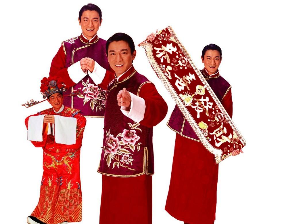 春节服饰简笔画