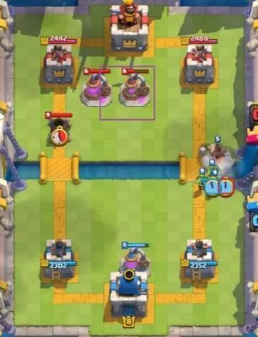 部落冲突皇室战争野猪跳河玩法技巧