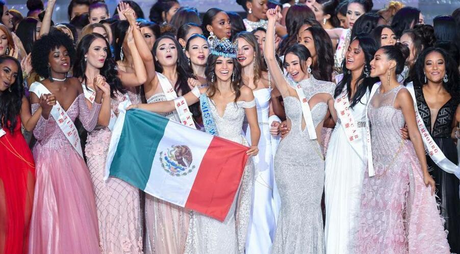 第68届世界小姐总决赛冠军诞生 墨西哥佳丽摘桂冠