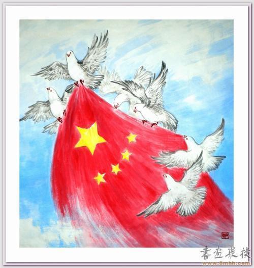 中国梦,民族魂——在阳光下成长可以画哪些内容?