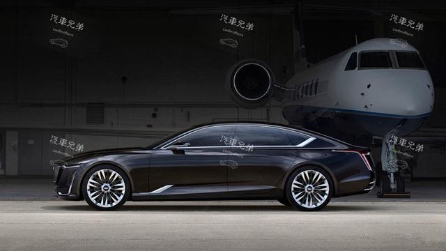 全新的凯迪拉克豪华轿车ct5就与这款概念车十分相似.