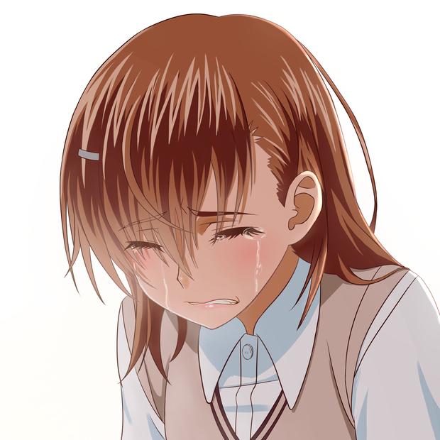 求几张哭泣的动漫人物图片