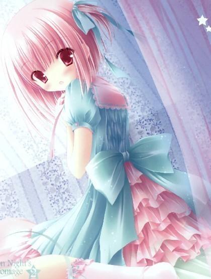 求可爱动漫美少女的画法!像这样的