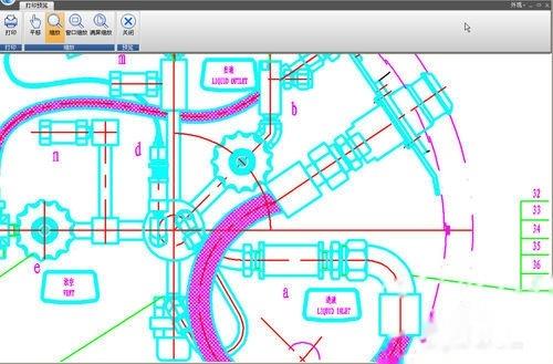 CAD中设置了线宽,线还是细的,打印正常?+cad打开prj图片