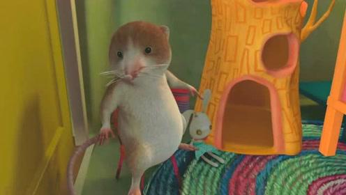 比得兔:鼠仔在喊救命,兔子棉球尾对他做了什么事呢