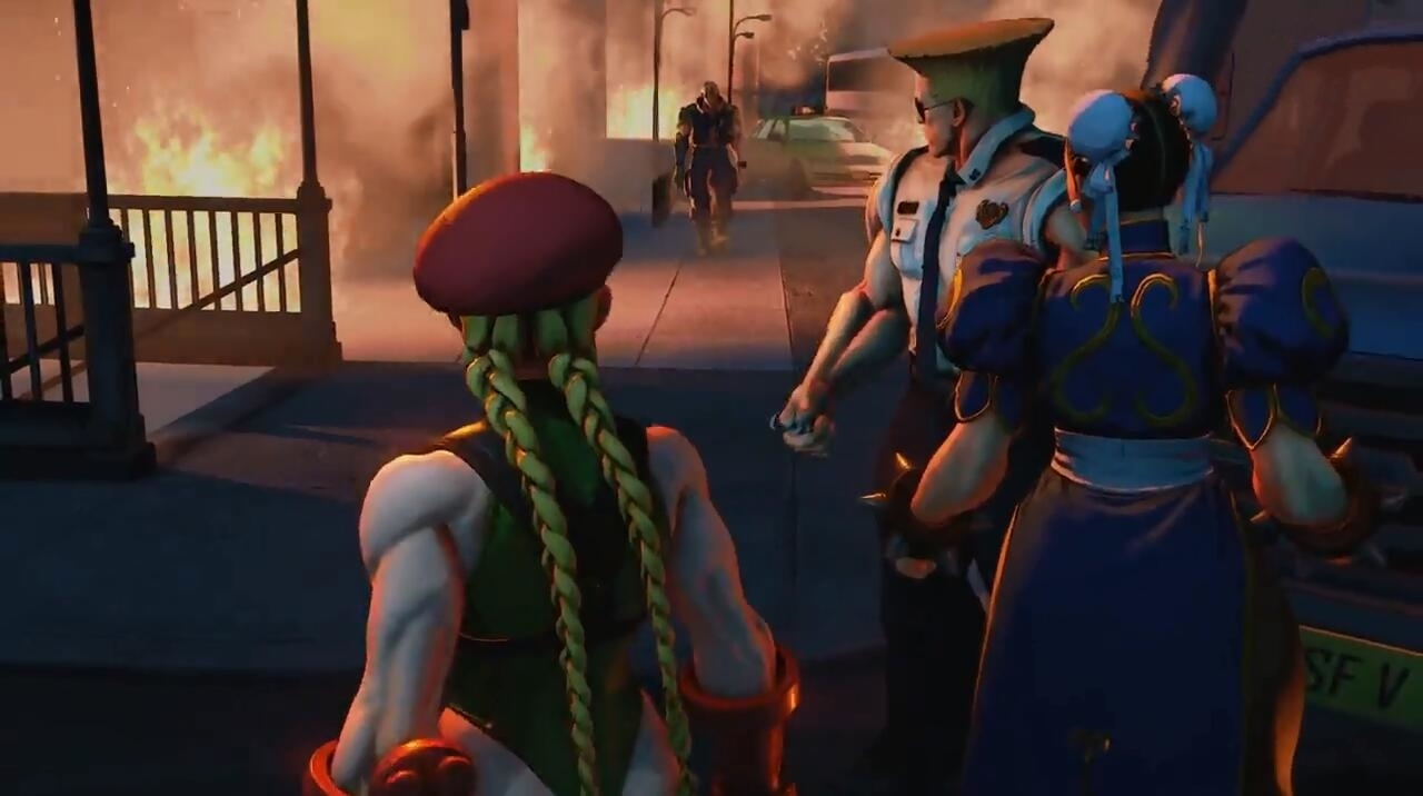 《街头霸王5》剧情模式上线