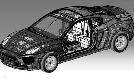 同捷超跑设计图